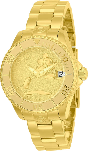 Invicta Women's 24533 Disney  Automatic 3 Hand Gold Dial Watch