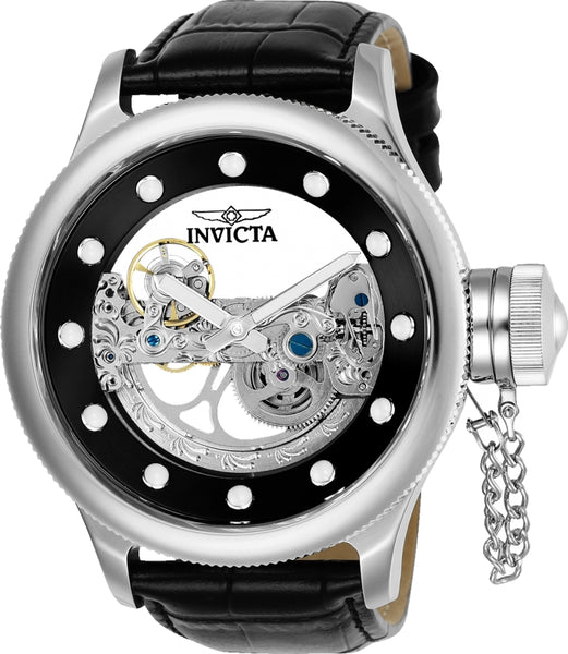 Invicta Men's 24593 Russian Diver Automatic 3 Hand Black Dial Watch