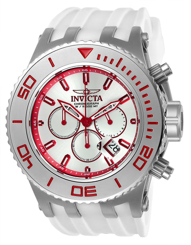 Invicta Men's 24656 Subaqua Quartz Chronograph Silver Dial Watch