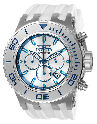 Invicta Men's 24657 Subaqua Quartz Chronograph Silver Dial Watch