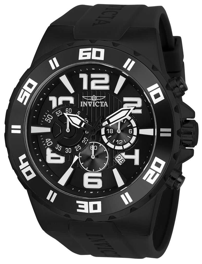 Invicta Men's 24673 Pro Diver Quartz Multifunction Black Dial Watch