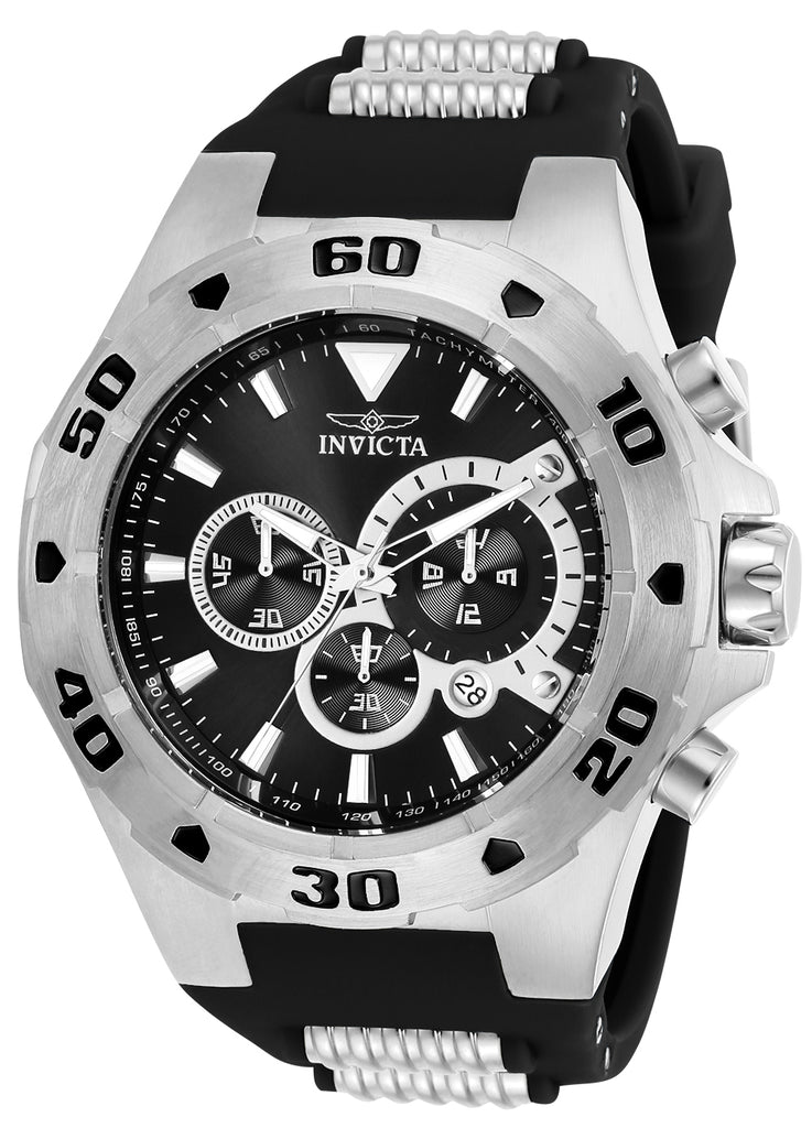 Invicta Men's 24676 Pro Diver Quartz Multifunction Black Dial Watch