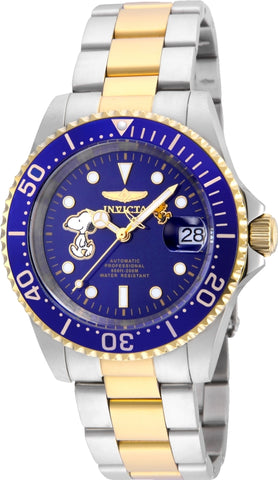 Invicta Men's 24786 Character  Automatic 3 Hand Blue Dial Watch