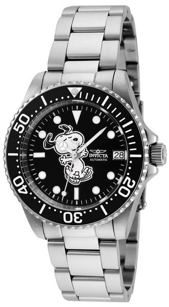 Invicta Women's 24790 Character Automatic 3 Hand Black Dial Watch