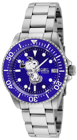 Invicta Women's 24791 Character  Automatic 3 Hand Blue Dial Watch