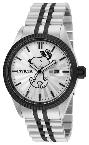 Invicta Men's 24804 Character  Quartz 3 Hand Silver Dial Watch