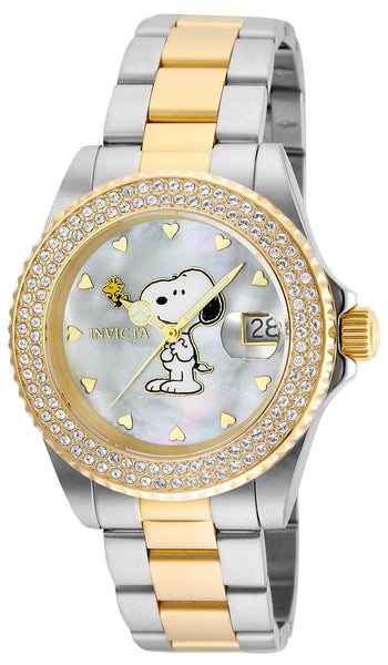 Invicta Women's 24810 Character Quartz 3 Hand White Dial Watch