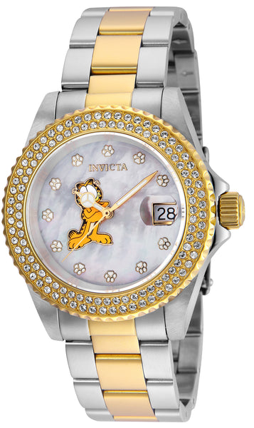 Invicta Women's 24869 Character  Quartz 3 Hand White Dial Watch