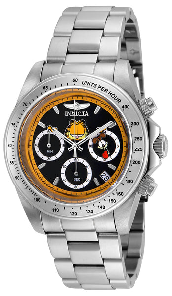 Invicta Men's 24889 Character  Quartz Chronograph Black Dial Watch