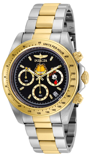 Invicta Men's 24890 Character  Quartz Chronograph Black Dial Watch