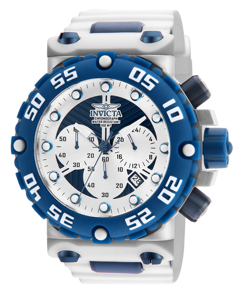 Invicta Men's 25040 Subaqua Quartz Multifunction Antique Silver, Blue Dial Watch