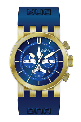 Invicta Men's 25059 DNA Quartz Multifunction Blue, White Dial Watch