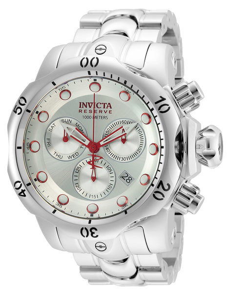 Invicta Men's 25060 Reserve Quartz Chronograph Silver Dial Watch
