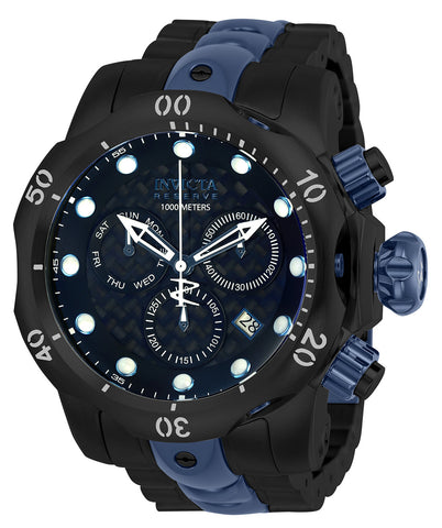 Invicta Men's 25062 Reserve Quartz Chronograph Black Dial Watch