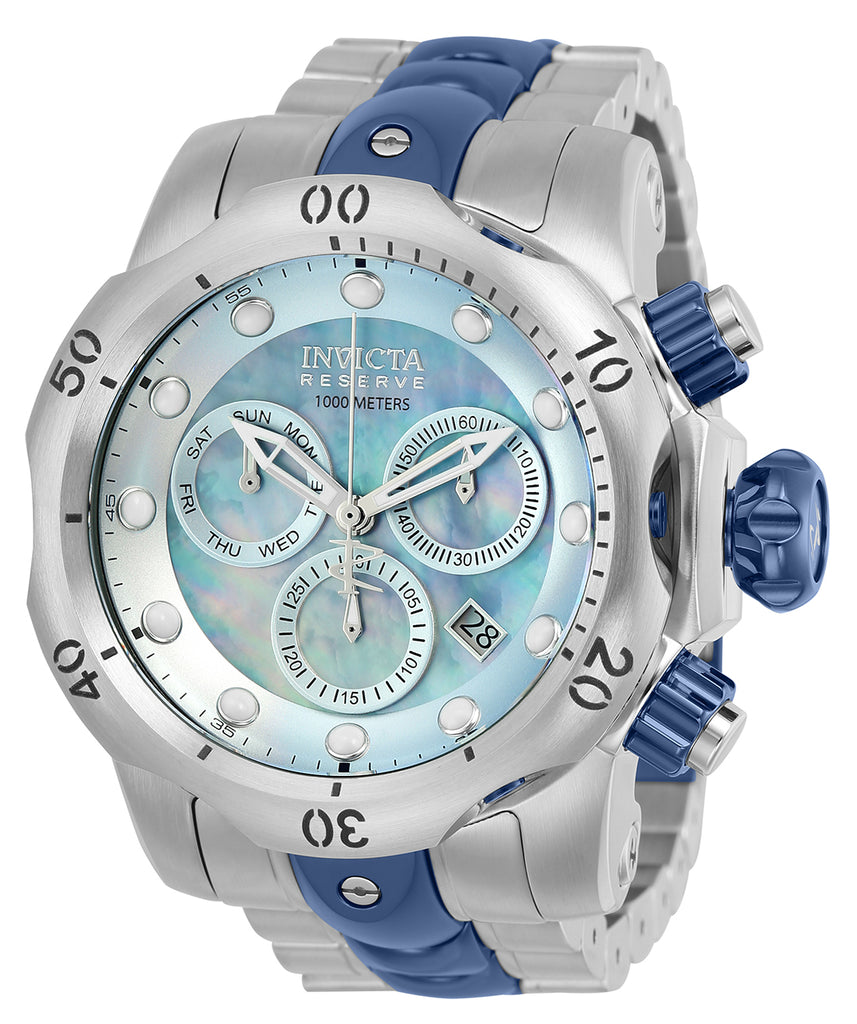 Invicta Men's 25063 Reserve Quartz Chronograph Platinum Dial Watch