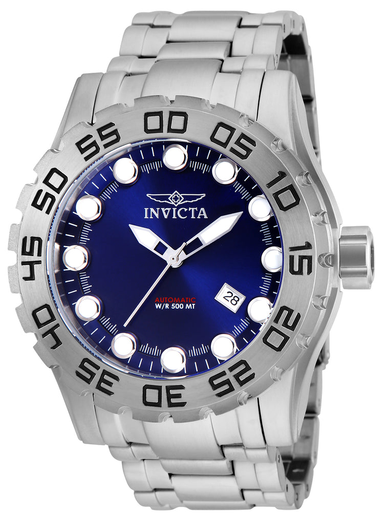 Invicta Men's 25091 Pro Diver Automatic 3 Hand Blue Dial  Watch