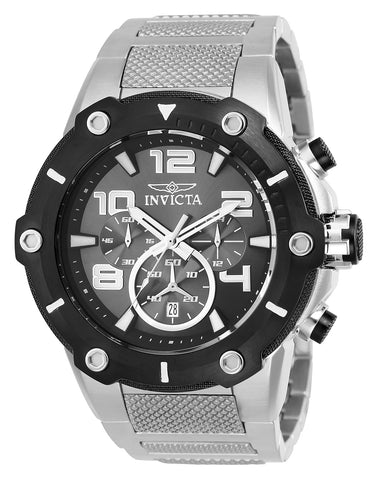 Invicta Men's 25134 Speedway Quartz Chronograph Dark Grey Dial Watch