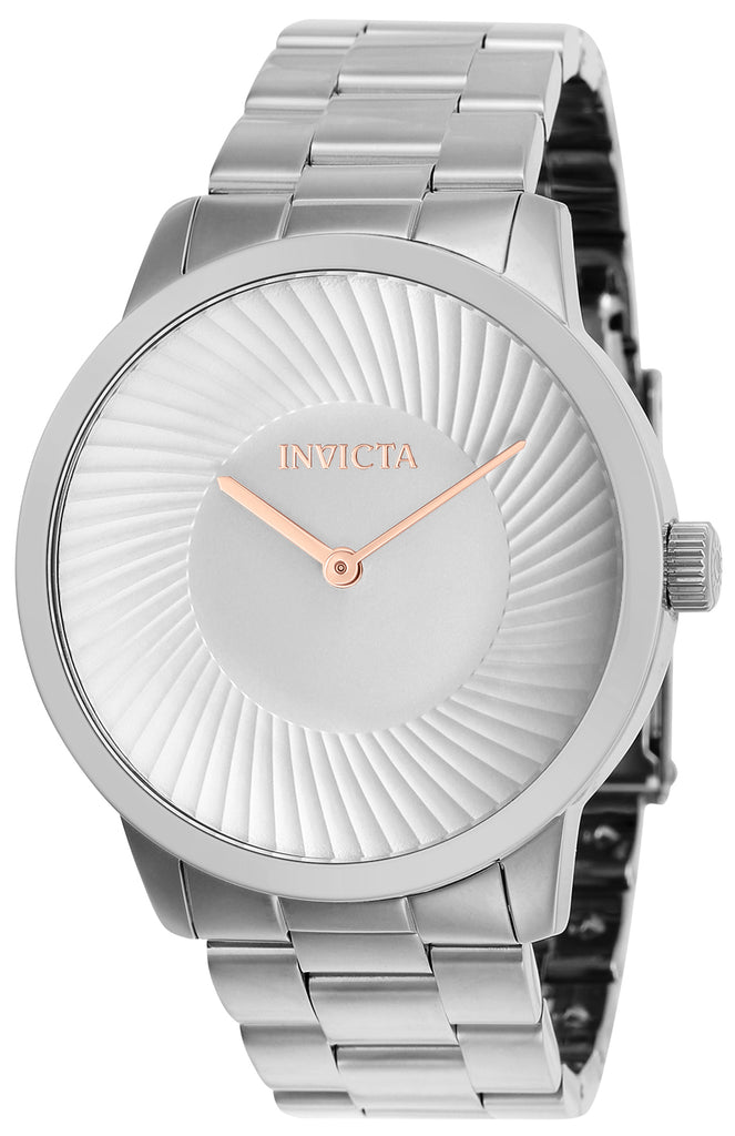 Invicta Men's 25174 Specialty Quartz 2 Hand Silver Dial Watch
