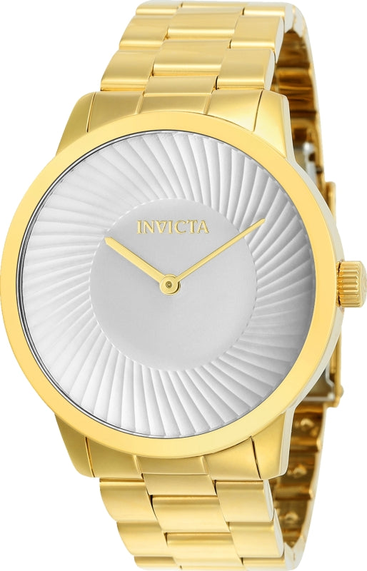 Invicta Men's 25175 Specialty Quartz Chronograph Silver Dial Watch
