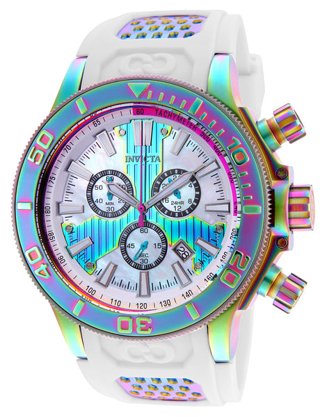 Invicta Men's 25177 Corduba Quartz Chronograph White Dial Watch