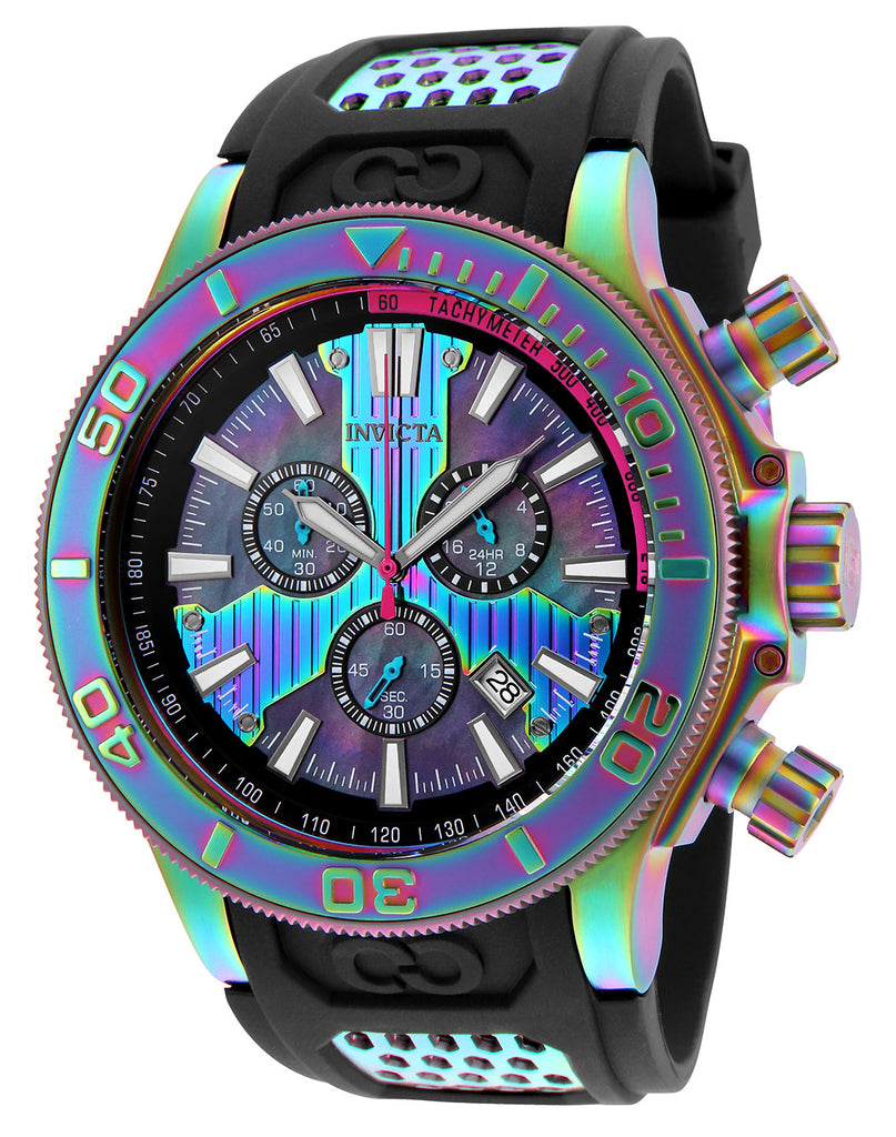 Invicta Men's 25178 Corduba Quartz Chronograph Black Dial Watch