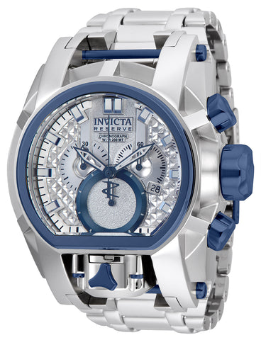Invicta Men's 25206 Reserve Quartz Chronograph Antique Silver Dial Watch