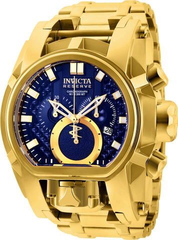 Invicta Men's 25209 Reserve Quartz Chronograph Blue Dial Watch