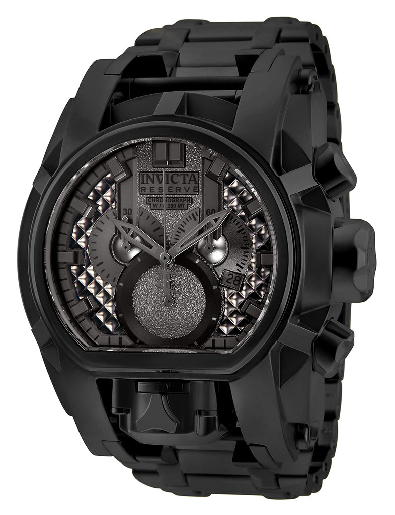 Invicta Men's 25211 Reserve Quartz Chronograph Gunmetal Dial Watch