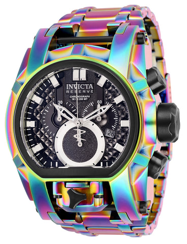 Invicta Men's 25212 Reserve Quartz Chronograph Silver Dial Watch