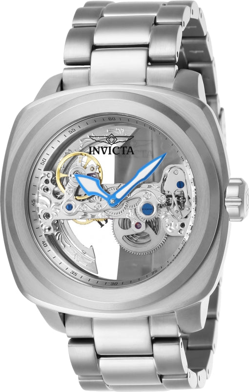 Invicta Men's 25234 Aviator Automatic 3 Hand Silver Dial Watch