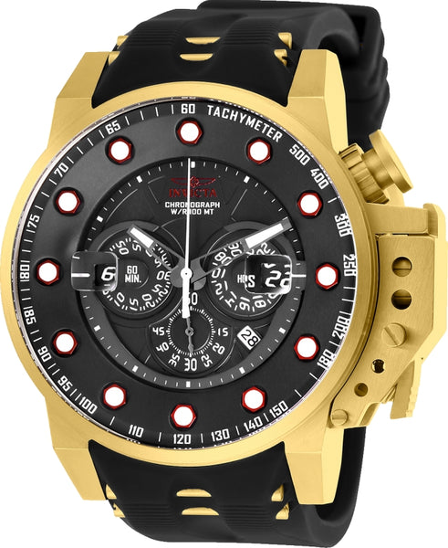 Invicta  Men's 25272 I-Force Quartz Multifunction Black Dial Watch