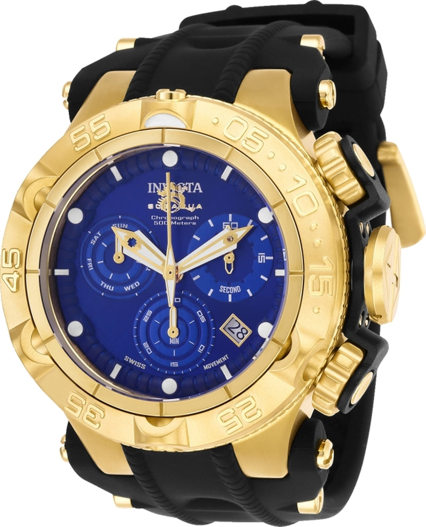 Invicta Men's 25353 Subaqua Quartz Chronograph Blue Dial  Watch