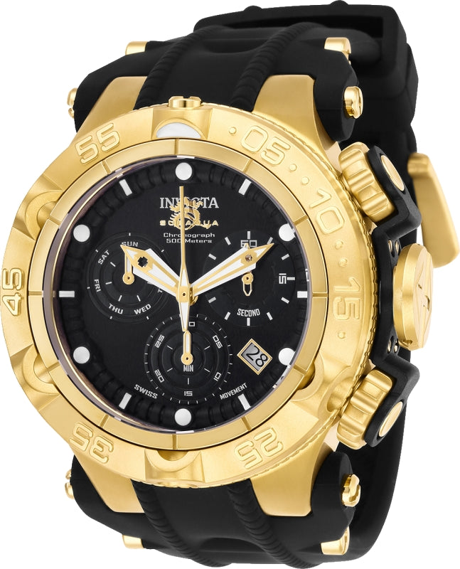 Invicta Men's 25354 Subaqua Quartz Chronograph Black Dial Watch