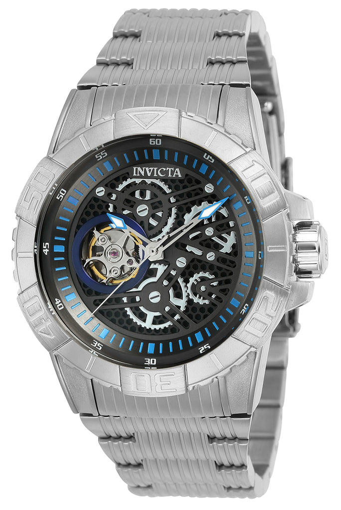 Invicta Men's 25416 Pro Diver Automatic Multifunction Black, Silver Dial Watch