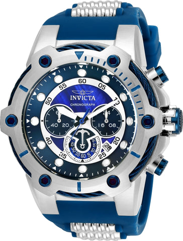 Invicta Men's 25465 Bolt Quartz Multifunction Blue Dial Watch