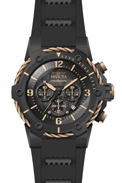 Invicta Men's 25469 Bolt Quartz Multifunction Black Dial Watch