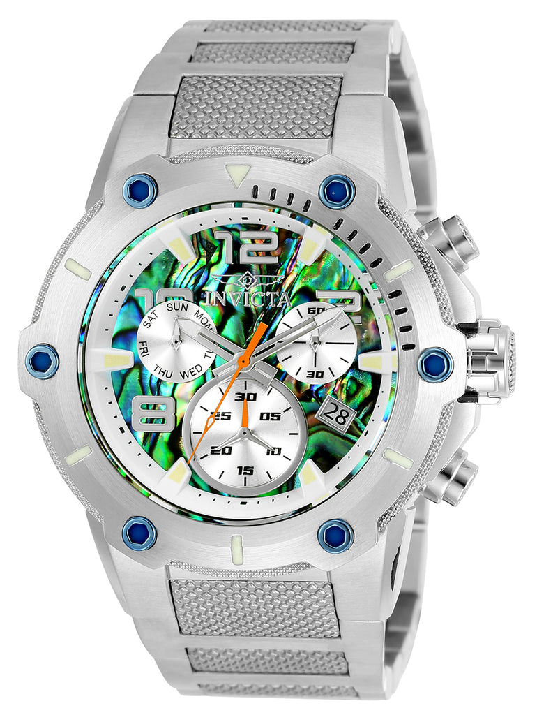 Invicta Men's 25497 Speedway Quartz Multifunction Rainbow Dial Watch