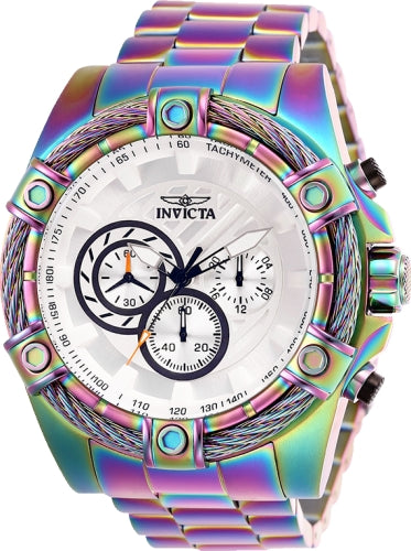 Invicta Men's 25520 Bolt Quartz Chronograph White Dial Watch