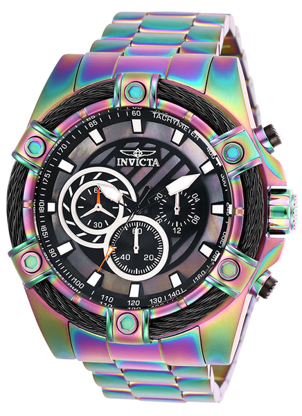 Invicta Men's 25521 Bolt Quartz Chronograph Black Dial Watch