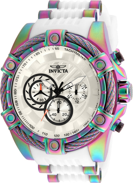 Invicta Men's 25530 Bolt Quartz Chronograph White Dial Watch