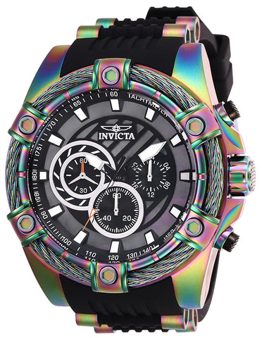 Invicta Men's 25531 Bolt Quartz Chronograph Black Dial Watch