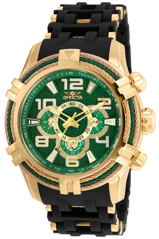 Invicta Men's 25557 Bolt Quartz Multifunction Green Dial Watch