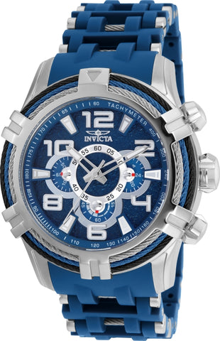 Invicta Men's 25558 Bolt Quartz Multifunction Blue Dial Watch
