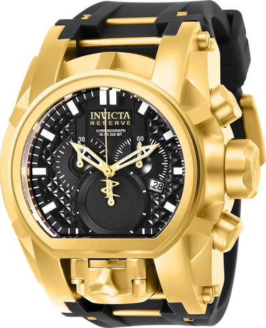 Invicta  Men's 25607 Reserve Quartz Multifunction Black Dial Watch