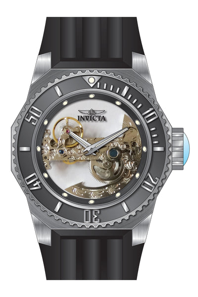 Invicta Men's 25610 Russian Diver Automatic 3 Hand Gunmetal Dial Watch