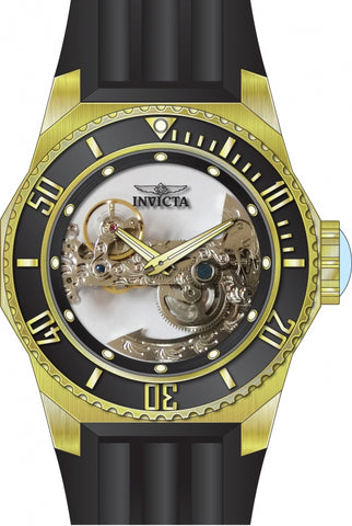 Invicta Men's 25625 Russian Diver Automatic 3 Hand Black Dial Watch