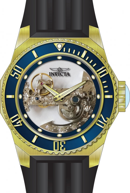 Invicta Men's 25626 Russian Diver Automatic 3 Hand Blue Dial Watch