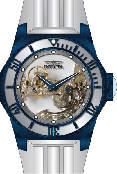 Invicta Men's 25627 Russian Diver Automatic 3 Hand Silver Dial Watch