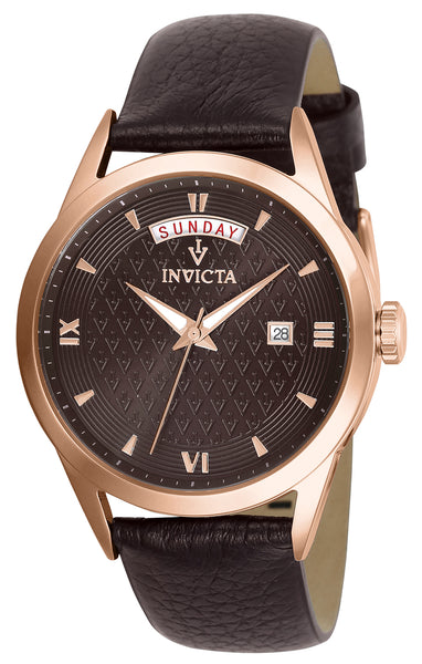 Invicta Women's 25713 Vintage Quartz 3 Hand Brown Dial Watch