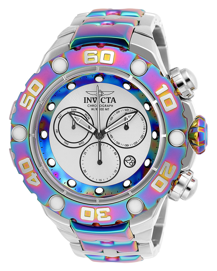 Invicta Men's 25720 Excursion Quartz Chronograph Silver Dial Watch
